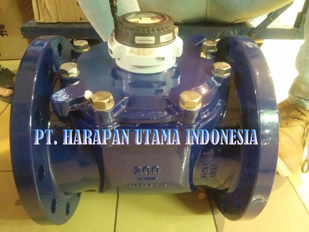 Jual Water Meter Sensus Wp-Dynamic Cold Water 50°C Size 8 Inch (DN200)